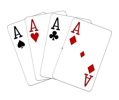 Poker what beats four aces